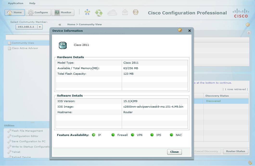 آموزش کانفیگ روتر سیسکو با نرم افزار Cisco Configuration
